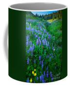Lupine Cornucopia Coffee Mug