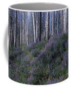 Lupine On Mt. Washburn - Yellowstone Coffee Mug