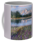 Lupines At Pilgrim Creek Coffee Mug