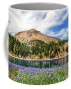 Lupines Lake And Lassen Coffee Mug