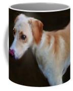 Lurcher Portrait  Coffee Mug