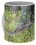 Lurking In The Grass Coffee Mug