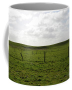 Lush Green Grass On The Cliffs Of Moher Coffee Mug
