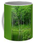 Lush Green Pond Coffee Mug
