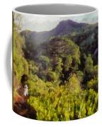 Lush Greenery While Trekking Coffee Mug