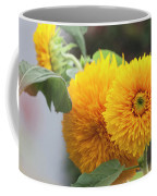 Lush Sunflowers Coffee Mug