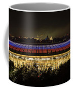 Luzhniki Stadium At Summer Night Against The Background Of The Ministry Of Foreign Affairs, The Cath Coffee Mug
