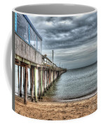 Lynnhaven Fishing Pier, Ocean Side Coffee Mug