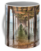 Lynnhaven Fishing Pier, Pillars To The Sea Coffee Mug