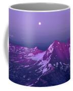 M05413 Moonrise Over Broken Top Coffee Mug