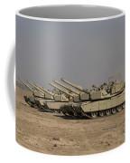 M1 Abrams Tanks At Camp Warhorse Coffee Mug