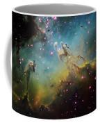 M16 The Eagle Nebula Coffee Mug by Ken Crawford