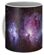 M42, The Orion Nebula Top, And Ngc Coffee Mug by Robert Gendler