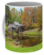 Mabry Mill In Fall 1 Coffee Mug