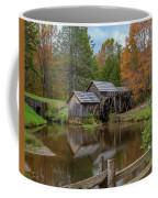 Mabry Mill In Fall 2 Coffee Mug