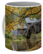 Mabry Mill In Fall 3 Coffee Mug