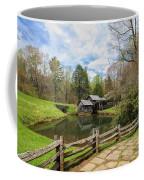 Mabry Mill In The Spring Coffee Mug