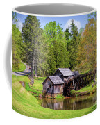 Mabry Mill In The Springtime On The Blue Ridge Parkway  Coffee Mug by Kerri Farley