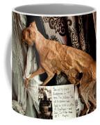 Macabre Mummified Cat - Halloween Coffee Mug