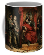 Macbeth Instructing The Murderers Employed To Kill Banquo Coffee Mug
