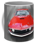 Mach1 Mustang 1969 Head On Coffee Mug