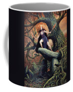 Macha The Irish Goddess Of War Coffee Mug by Jeremy McHugh