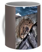 Machine Rust Hydraulic Ram Coffee Mug