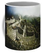 Machu Picchu In The Fog Coffee Mug