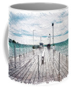 Mackinac Island Michigan Shuttle Pier Pa 02 Coffee Mug
