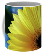 Macro Daisy Coffee Mug