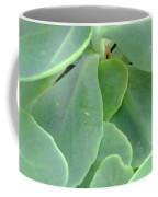 Macro Green Coffee Mug