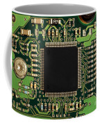 Macro Image Of A Hard Disk Controller Coffee Mug