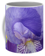 Macro Irises Close Up Purple Iris Flowers Giclee Art Prints Baslee Troutman Coffee Mug