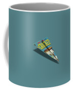 109s Cracked Mad Paper Airplanes Coffee Mug