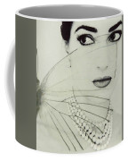 Madam Butterfly - Maria Callas  Coffee Mug