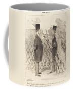 Madame Cabassol Se Prom?ne... Coffee Mug