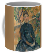 Madame Cezanne In The Conservatory Coffee Mug