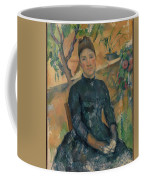 Madame Czanne Hortense Fiquet 18501922 In The Conservatory Coffee Mug