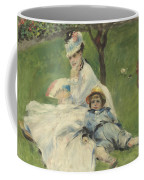 Madame Monet And Her Son Coffee Mug