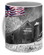 Made In America Red White And Blue Coffee Mug