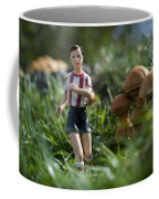 Made In China Soccer Player Coffee Mug