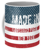 Made In Orchard Park, New York Coffee Mug