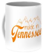 Made In Tennessee Orange Coffee Mug