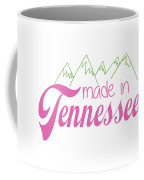 Made In Tennessee Pink Coffee Mug