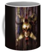 Madi Gras Mask And Beads Coffee Mug