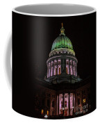 Madison Wi At Night Coffee Mug