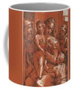Madonna And Child Accompanied By Saints Coffee Mug