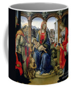 Madonna And Child Coffee Mug by Filippino Lippi