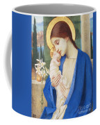 Madonna And Child Coffee Mug by Marianne Stokes