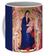 Madonna And Child On A Throne 1311 Coffee Mug
